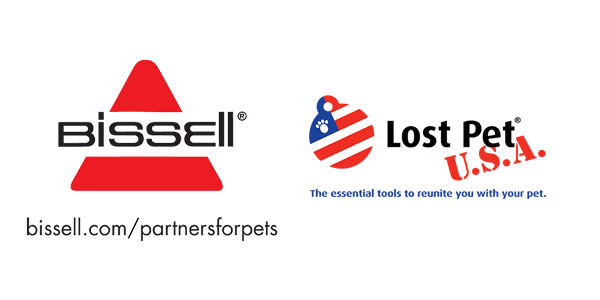 Bissell and Lost Pets Partnerships